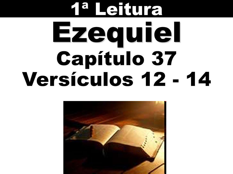 1ª Leitura Ezequiel Capítulo 37 Versículos 12 - 14