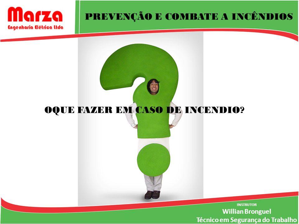 PREVENÇÃO E COMBATE A INCÊNDIOS OQUE FAZER EM CASO DE INCENDIO