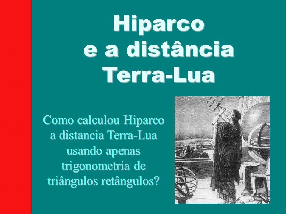 Hiparco e a distância Terra-Lua