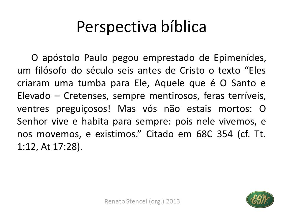 Perspectiva bíblica