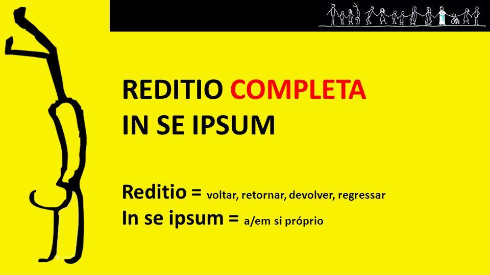 REDITIO COMPLETA IN SE IPSUM