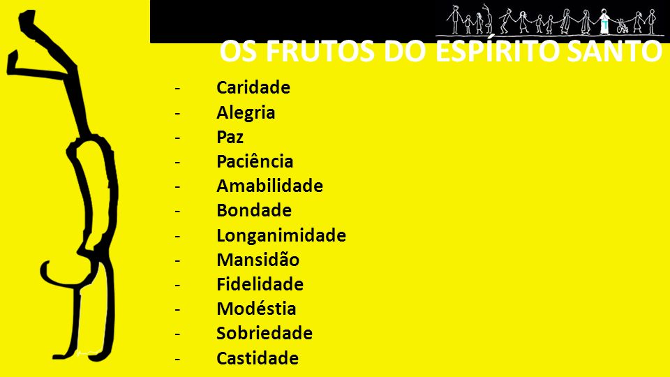 OS FRUTOS DO ESPÍRITO SANTO