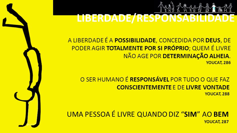 LIBERDADE/RESPONSABILIDADE
