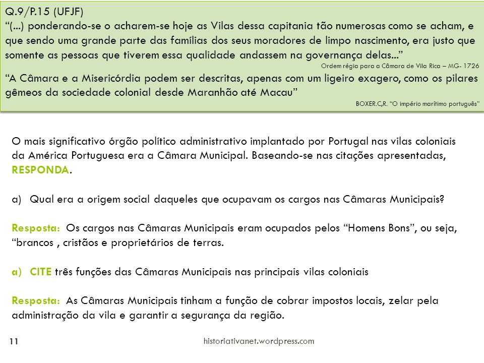 Q.9/P.15 (UFJF)