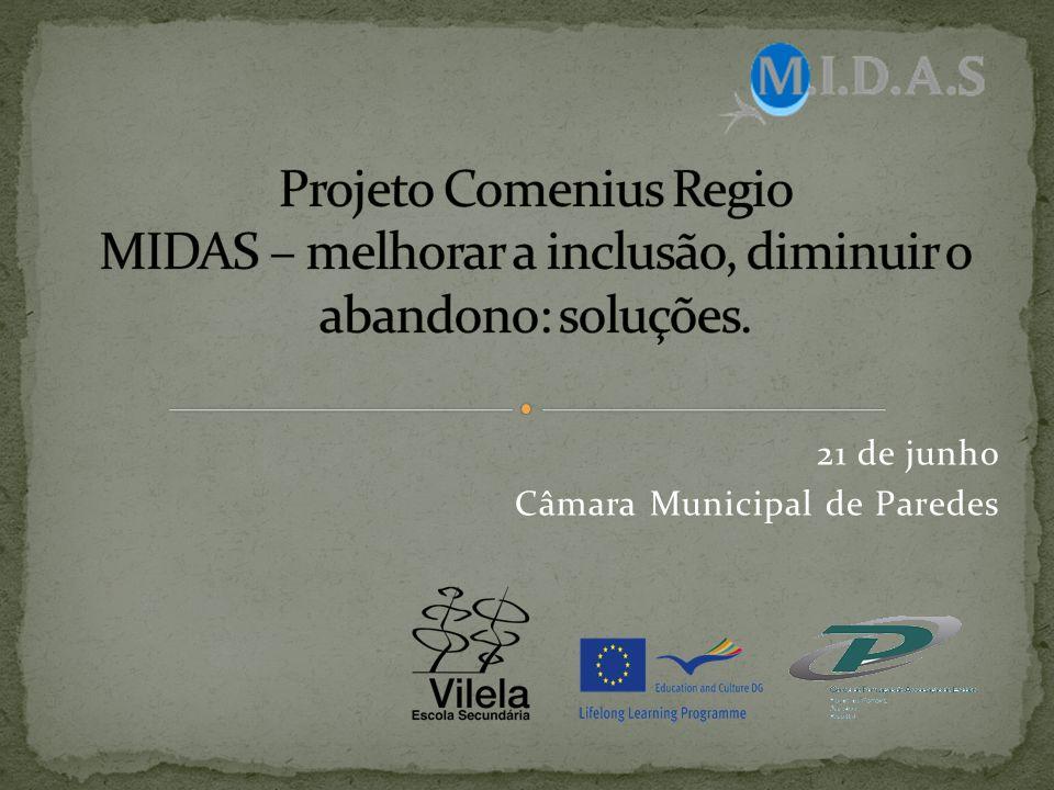 21 de junho Câmara Municipal de Paredes