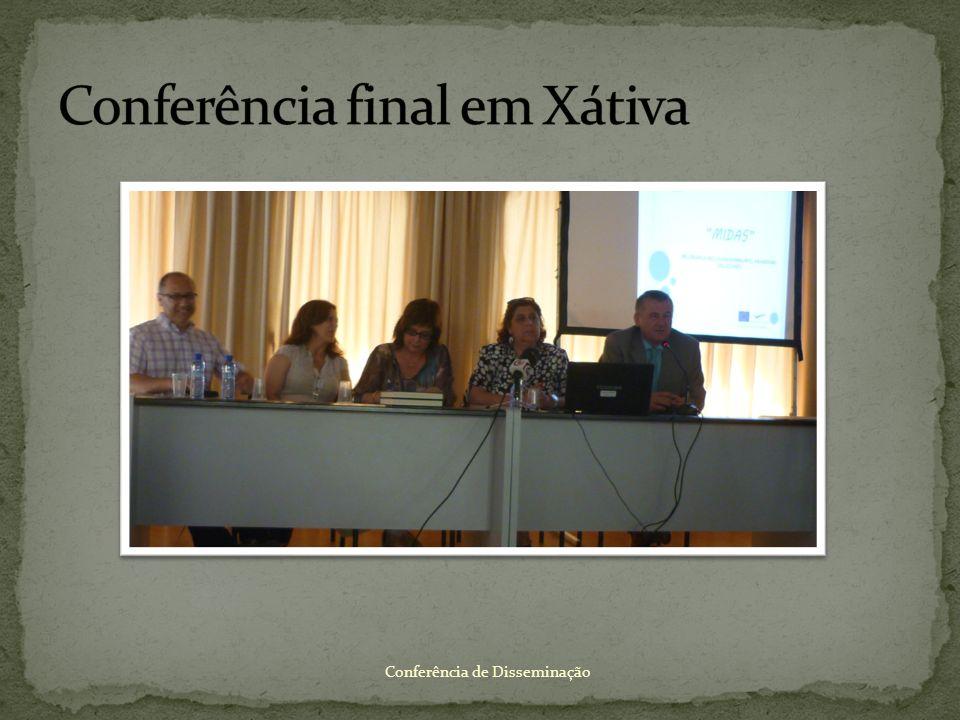 Conferência final em Xátiva