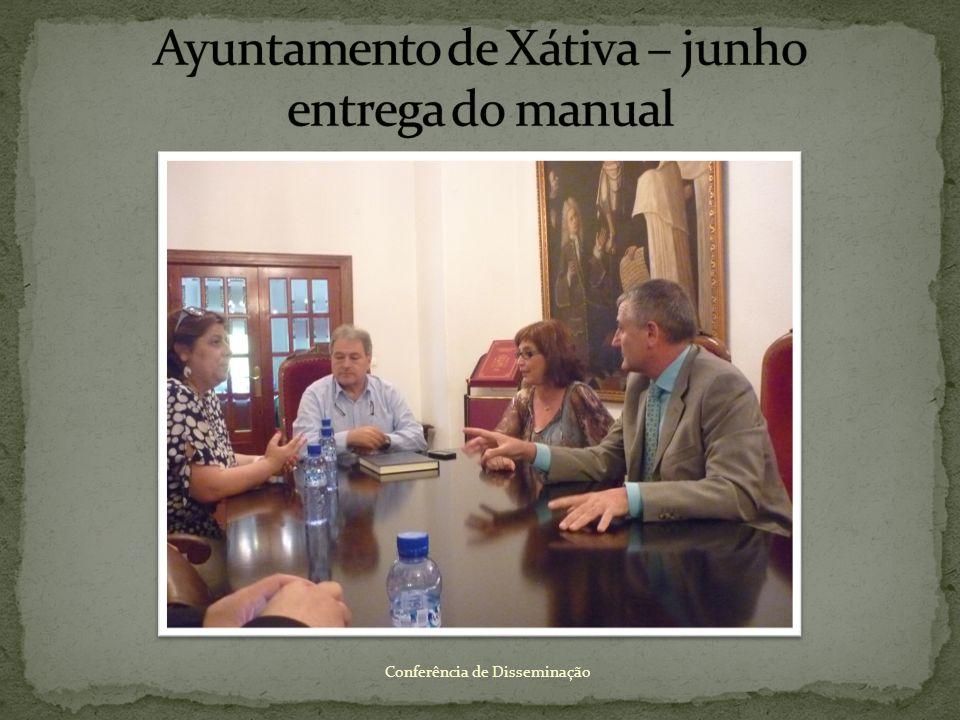 Ayuntamento de Xátiva – junho entrega do manual