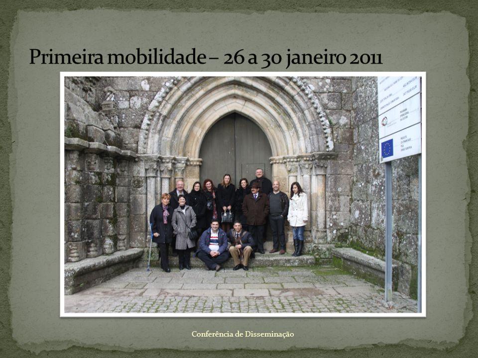 Primeira mobilidade – 26 a 30 janeiro 2011