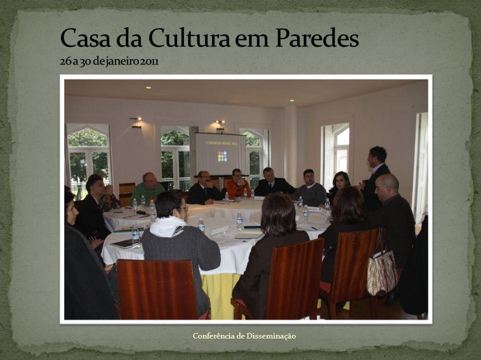 Casa da Cultura em Paredes 26 a 30 de janeiro 2011