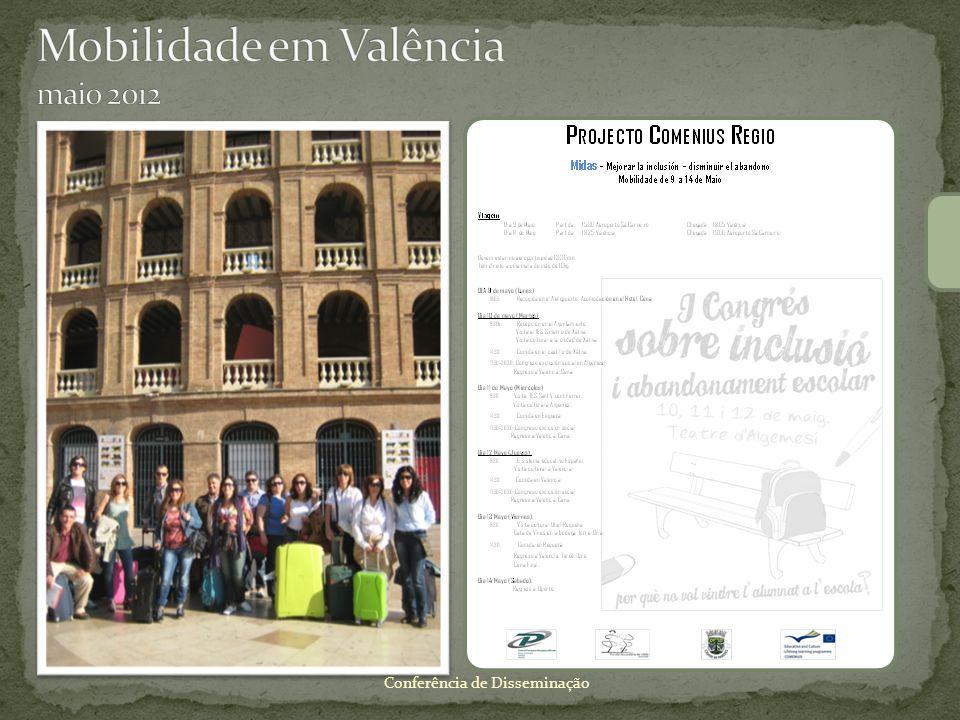 Mobilidade em Valência maio 2012