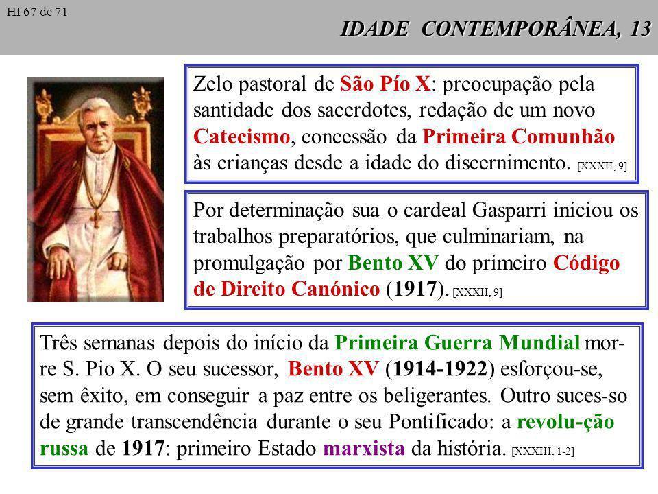 Zelo pastoral de São Pío X: preocupação pela