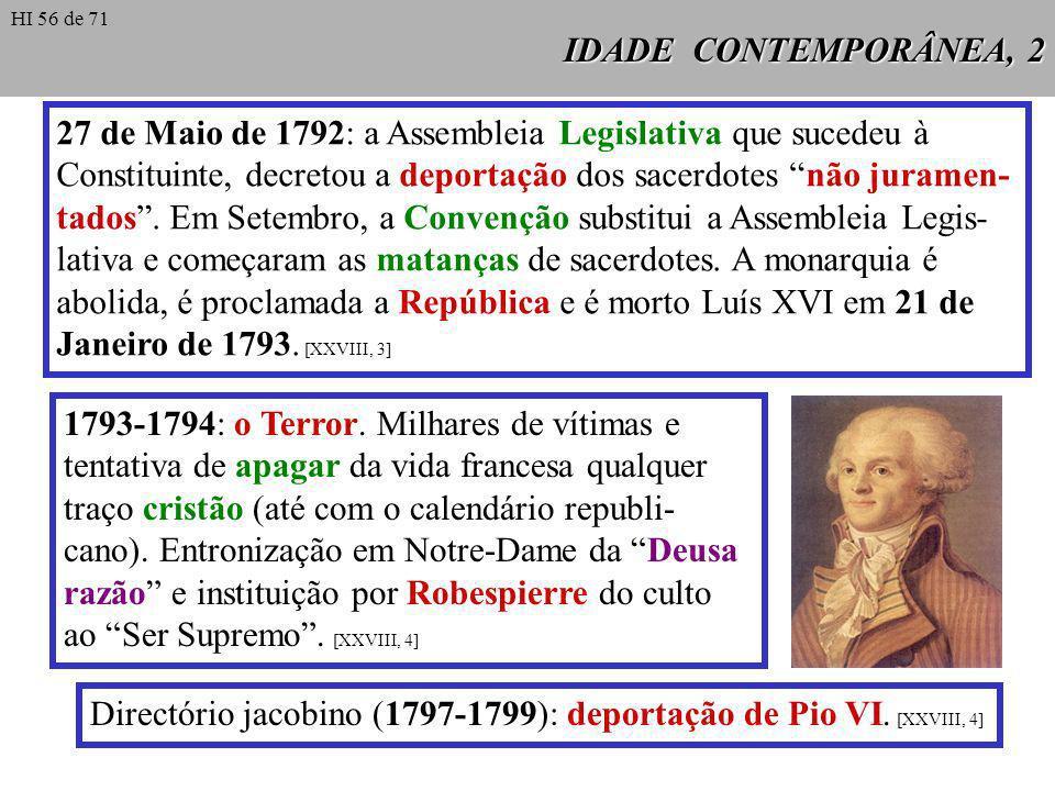 27 de Maio de 1792: a Assembleia Legislativa que sucedeu à