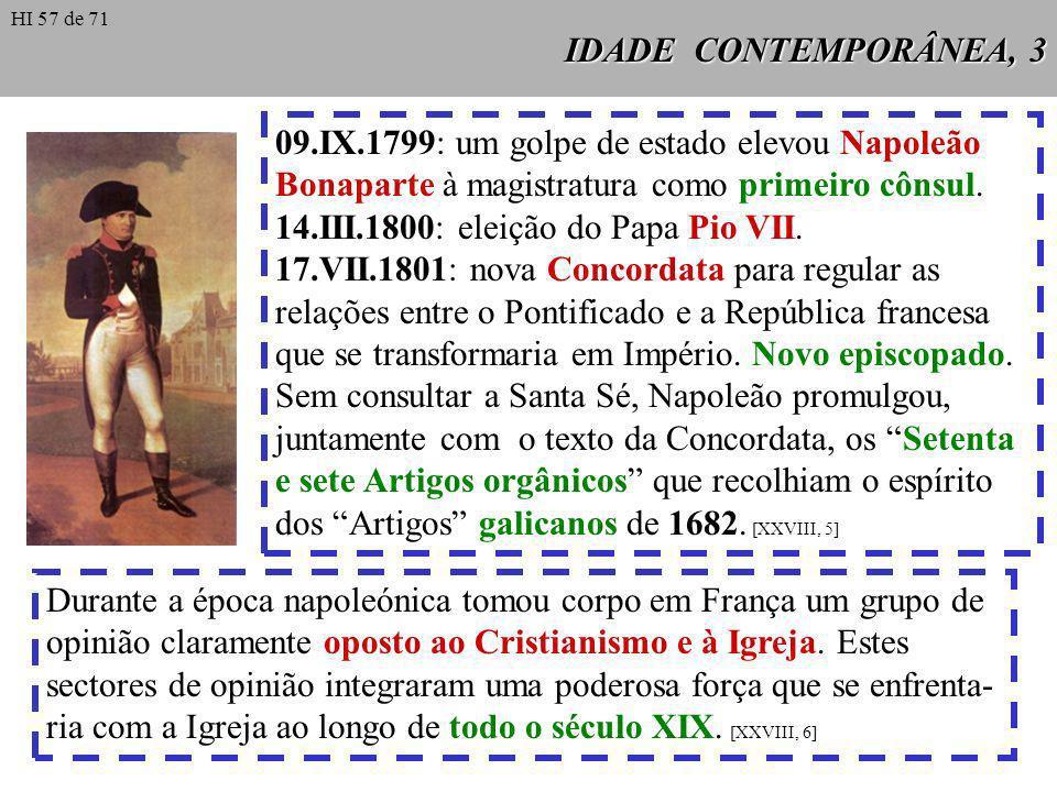 09.IX.1799: um golpe de estado elevou Napoleão