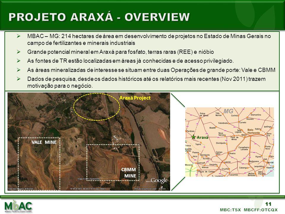 PROJETO Araxá - Overview