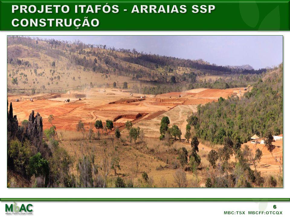 Projeto itafós - ARRAIAS SSP CONSTRUção