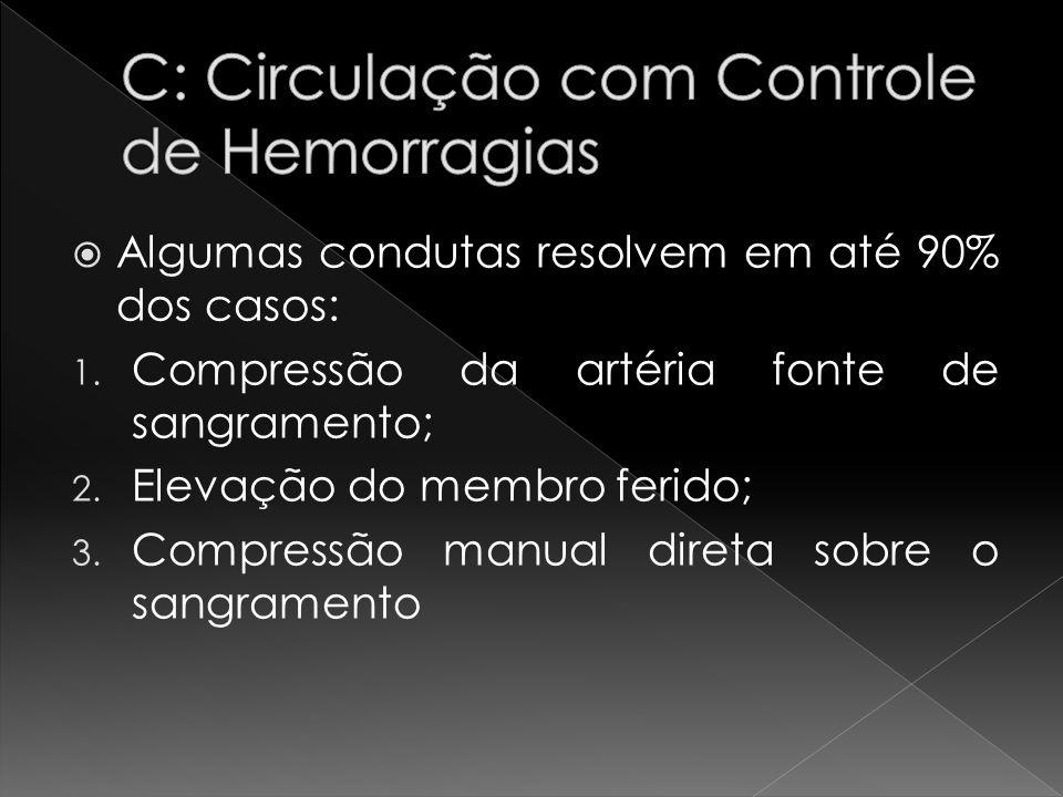 C: Circulação com Controle de Hemorragias