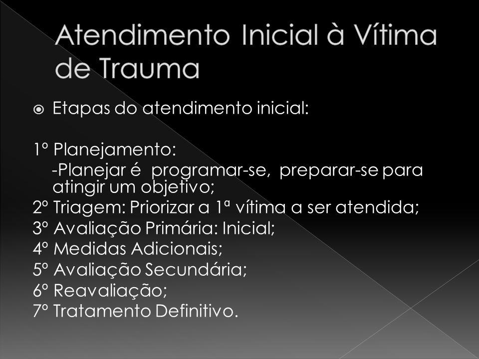 Atendimento Inicial à Vítima de Trauma