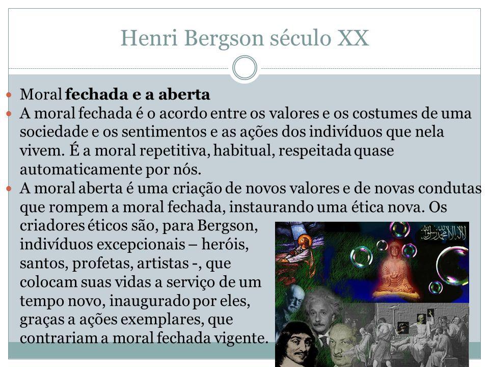 Henri Bergson século XX