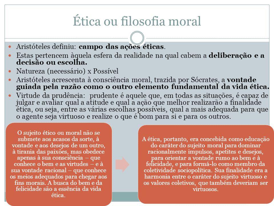 Ética ou filosofia moral