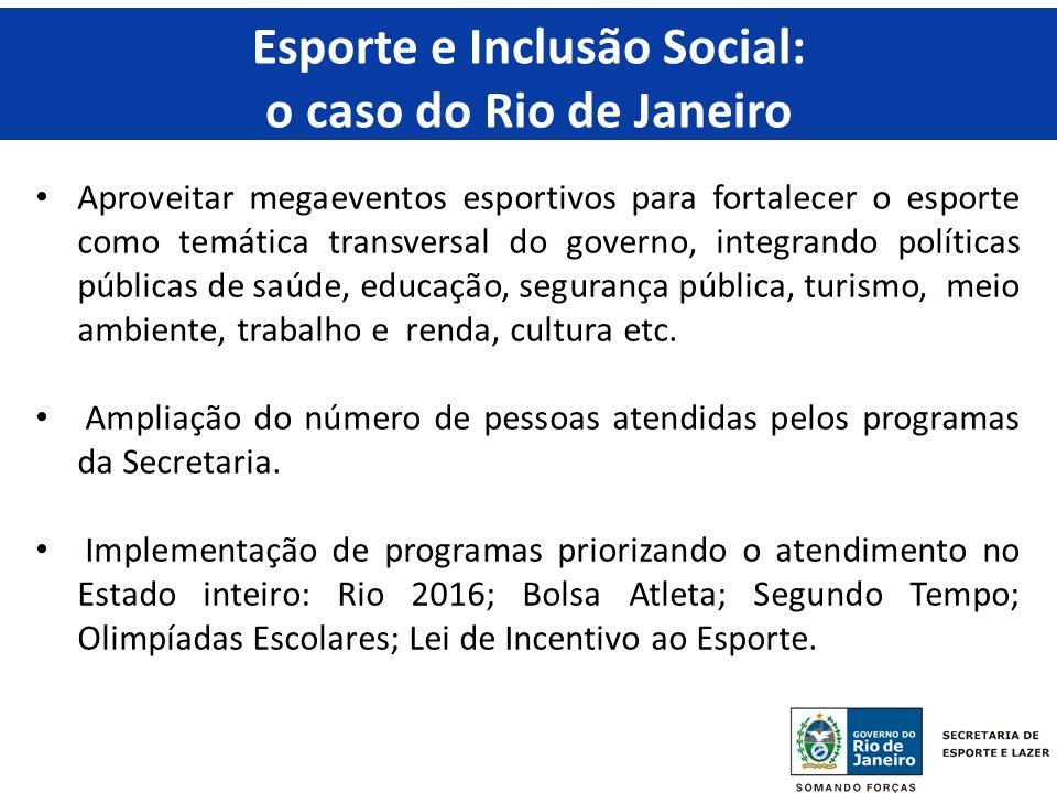 Esporte e Inclusão Social: