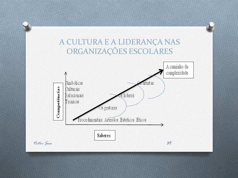 A CULTURA E A LIDERANÇA NAS ORGANIZAÇÕES ESCOLARES