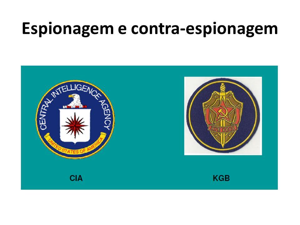 Espionagem e contra-espionagem