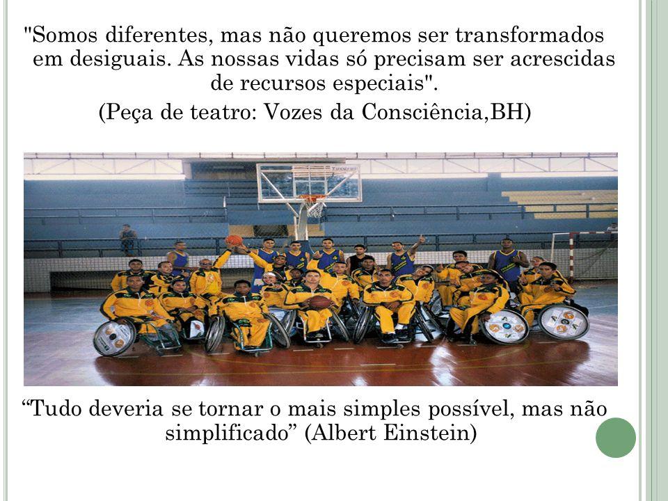 Somos diferentes, mas não queremos ser transformados em desiguais