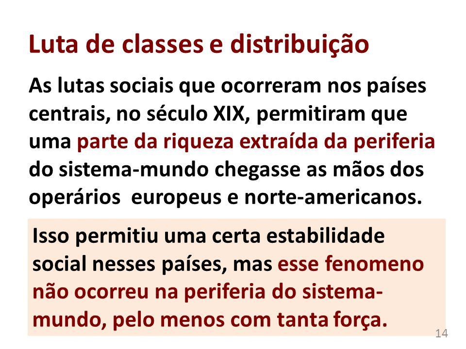 Luta de classes e distribuição