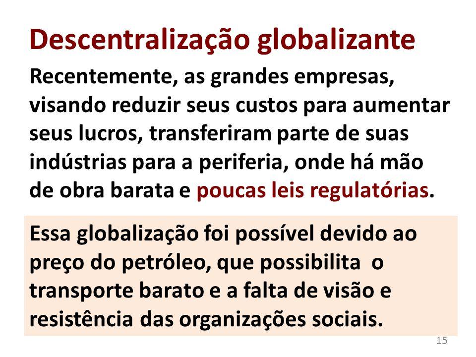 Descentralização globalizante