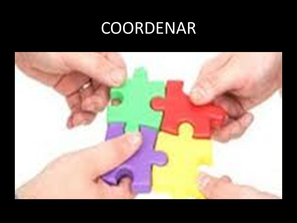 COORDENAR