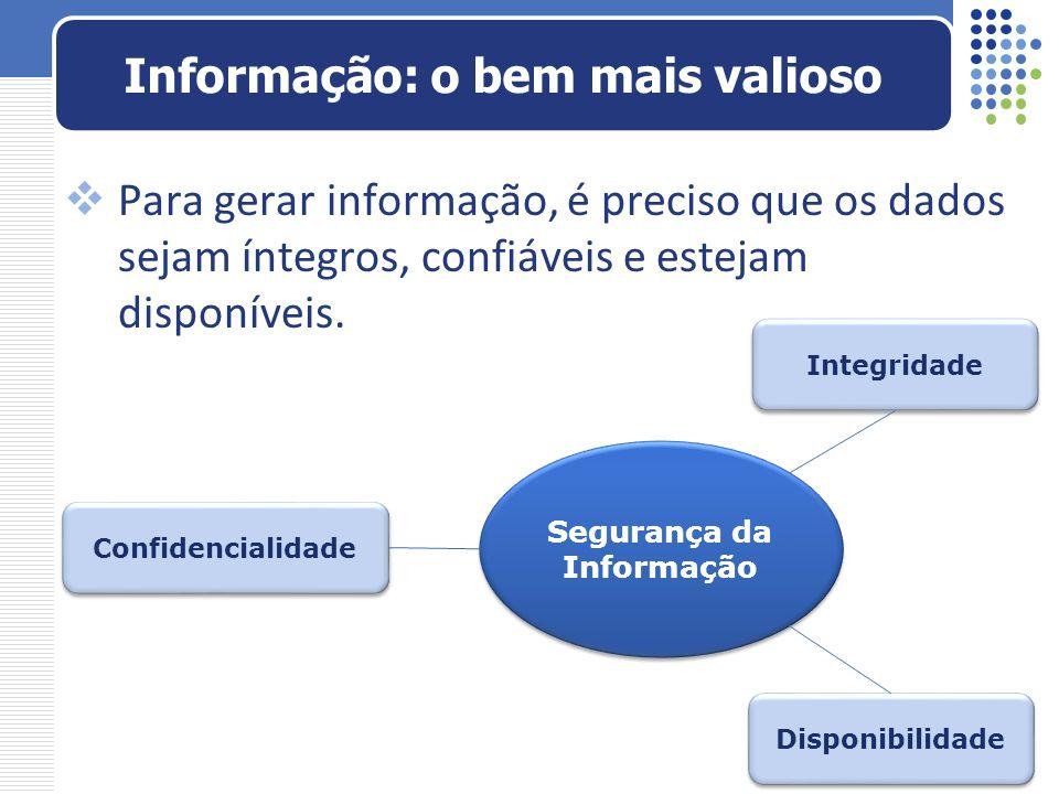 Informação: o bem mais valioso