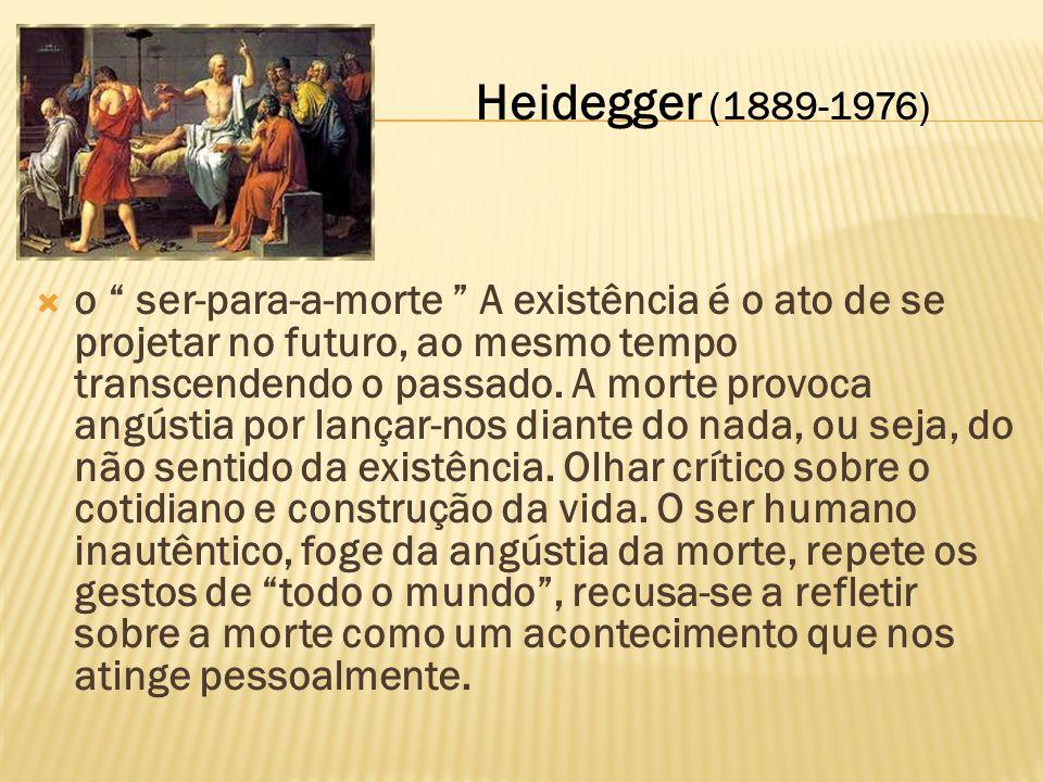 Heidegger (1889-1976)