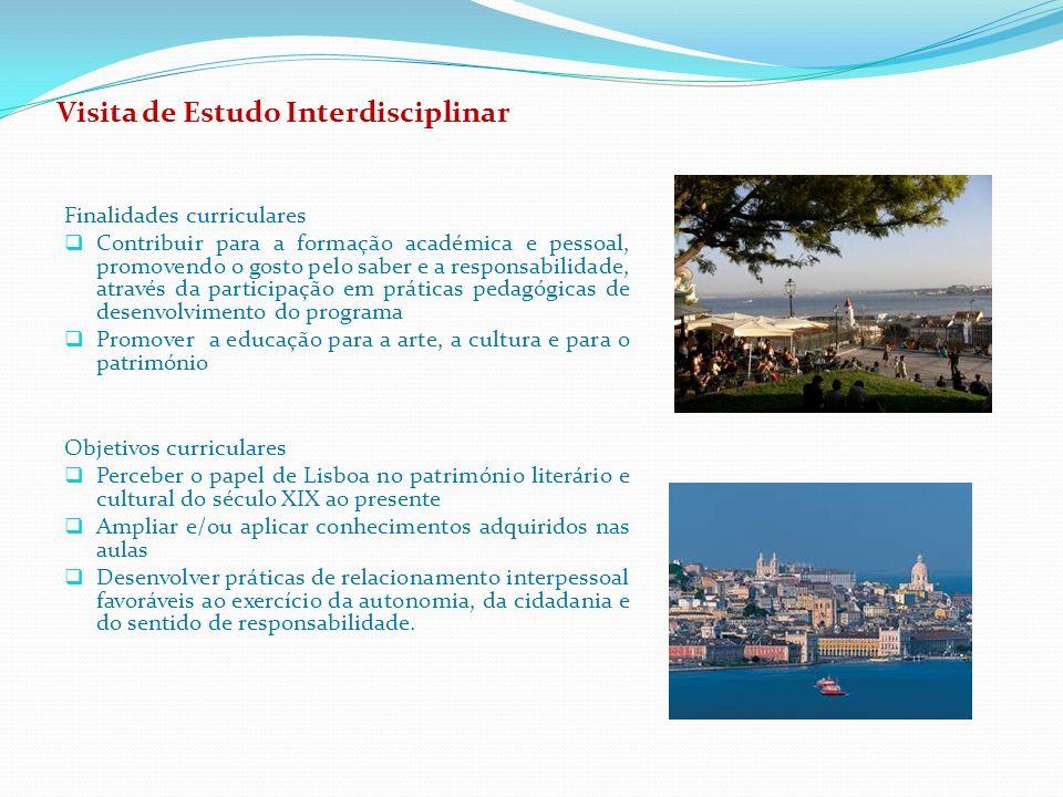 Visita de Estudo Interdisciplinar
