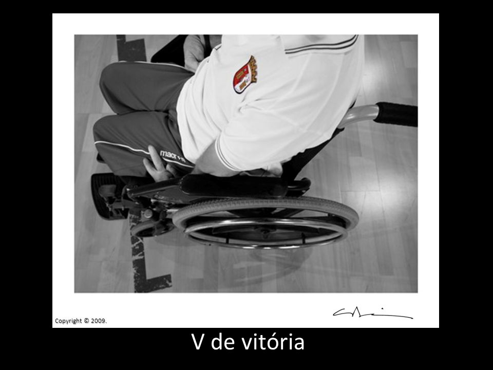 Copyright © 2009. V de vitória