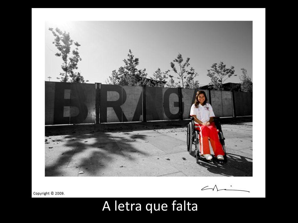 Copyright © 2009. A letra que falta