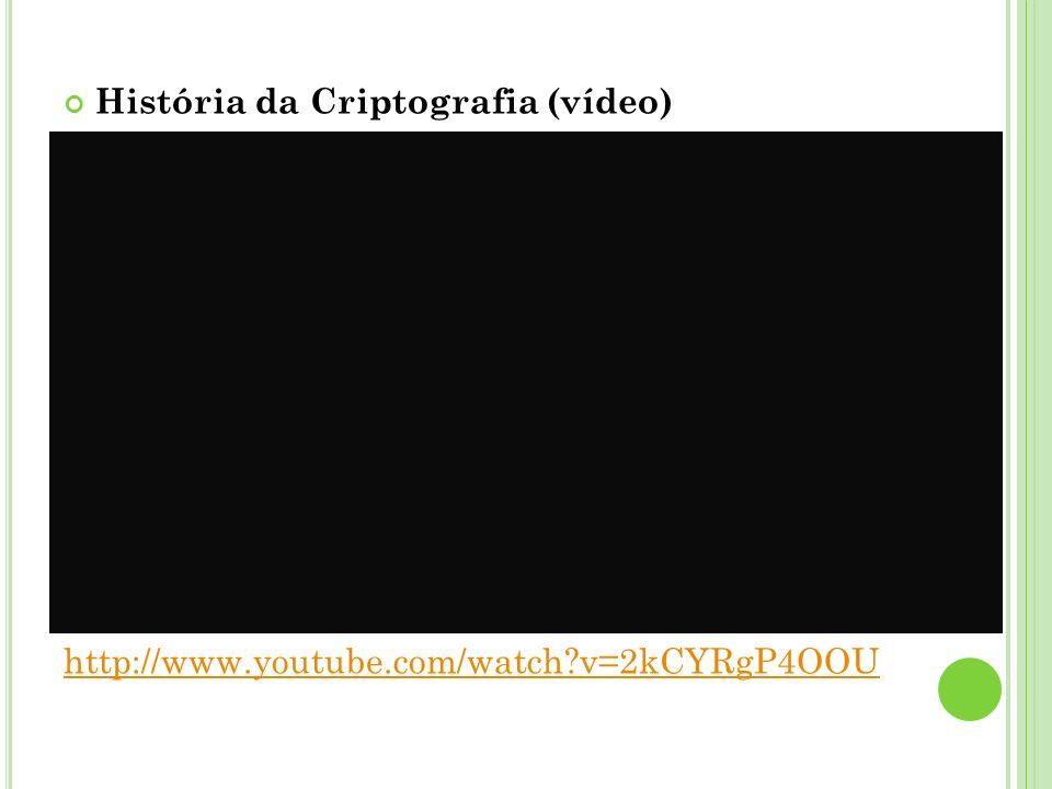 História da Criptografia (vídeo)