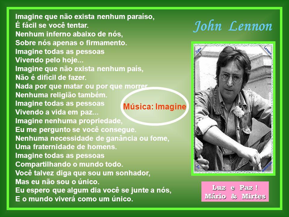 John Lennon Música: Imagine