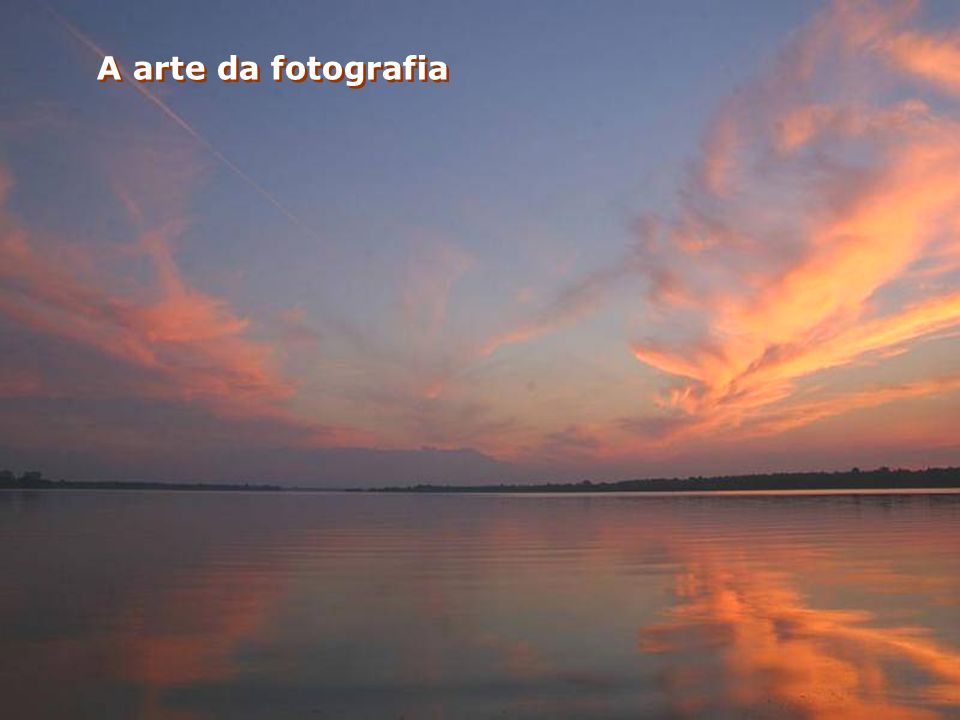 A arte da fotografia