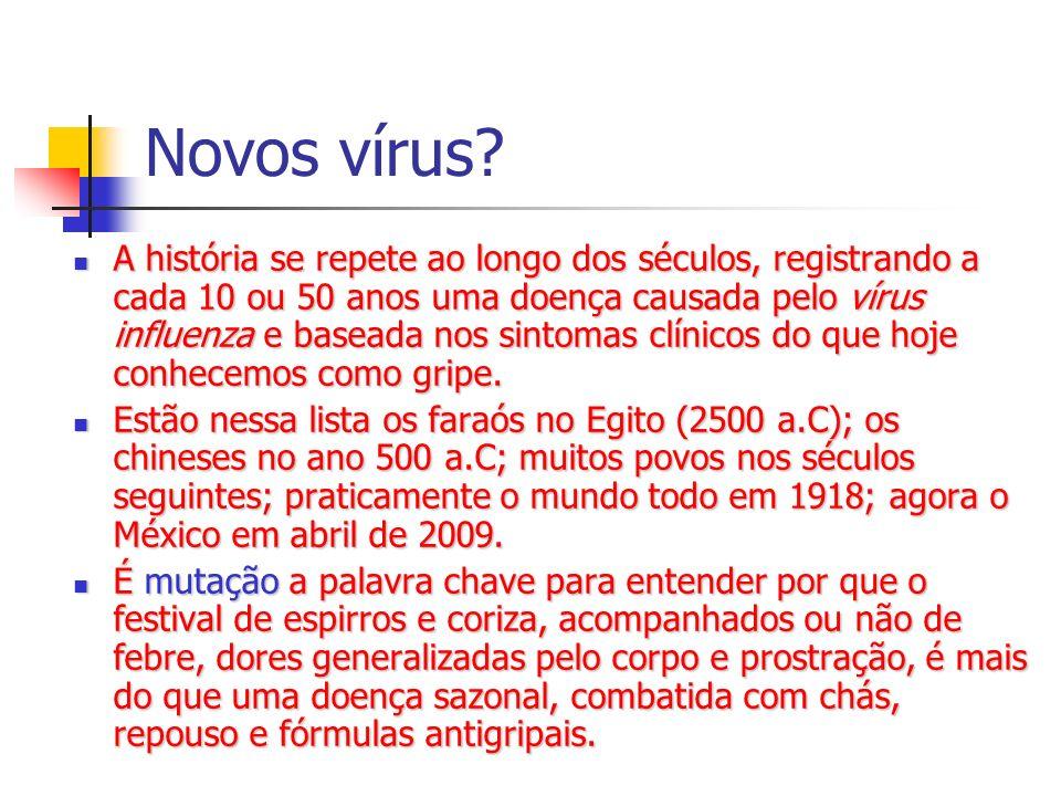 Novos vírus