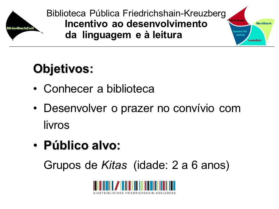 Grupos de Kitas (idade: 2 a 6 anos)