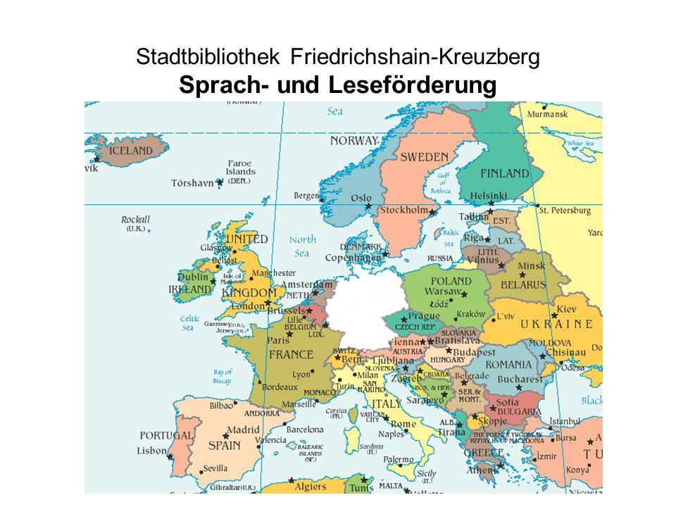 Stadtbibliothek Friedrichshain-Kreuzberg Sprach- und Leseförderung