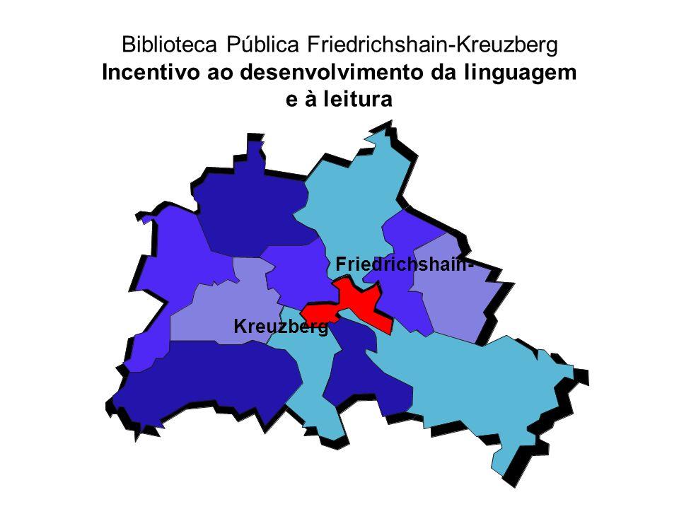 Biblioteca Pública Friedrichshain-Kreuzberg Incentivo ao desenvolvimento da linguagem e à leitura