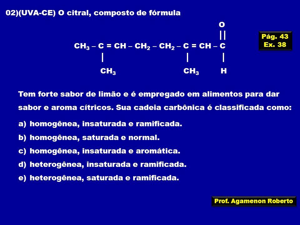 CH3 – C = CH – CH2 – CH2 – C = CH – C