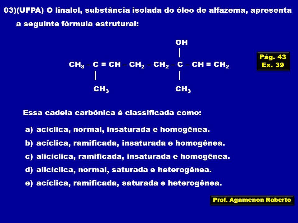 CH3 – C = CH – CH2 – CH2 – C – CH = CH2