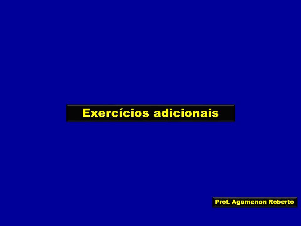 Exercícios adicionais