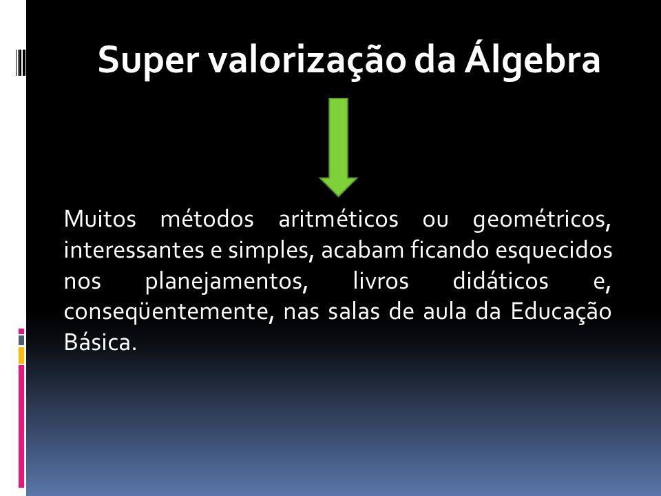 Super valorização da Álgebra