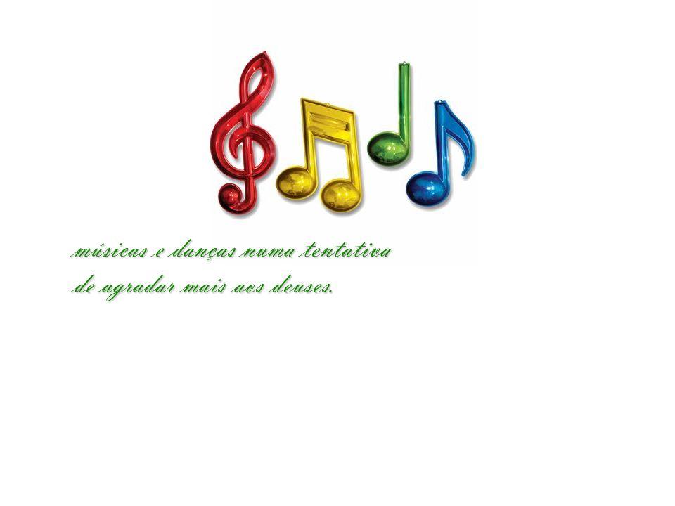 músicas e danças numa tentativa