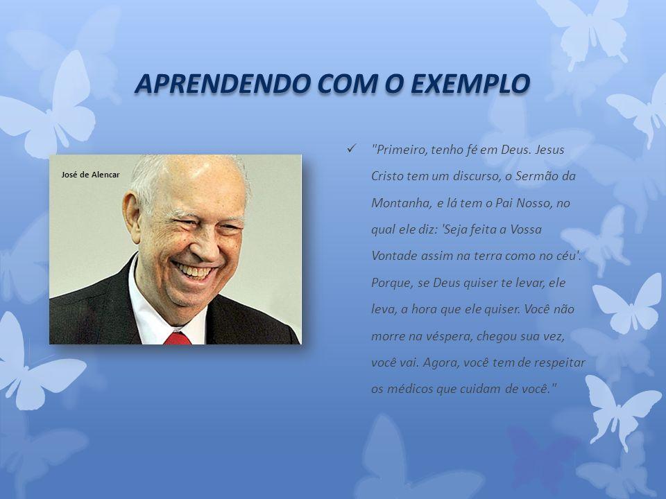 APRENDENDO COM O EXEMPLO