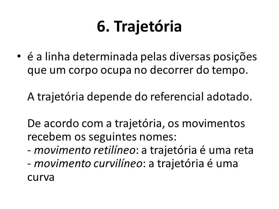 6. Trajetória