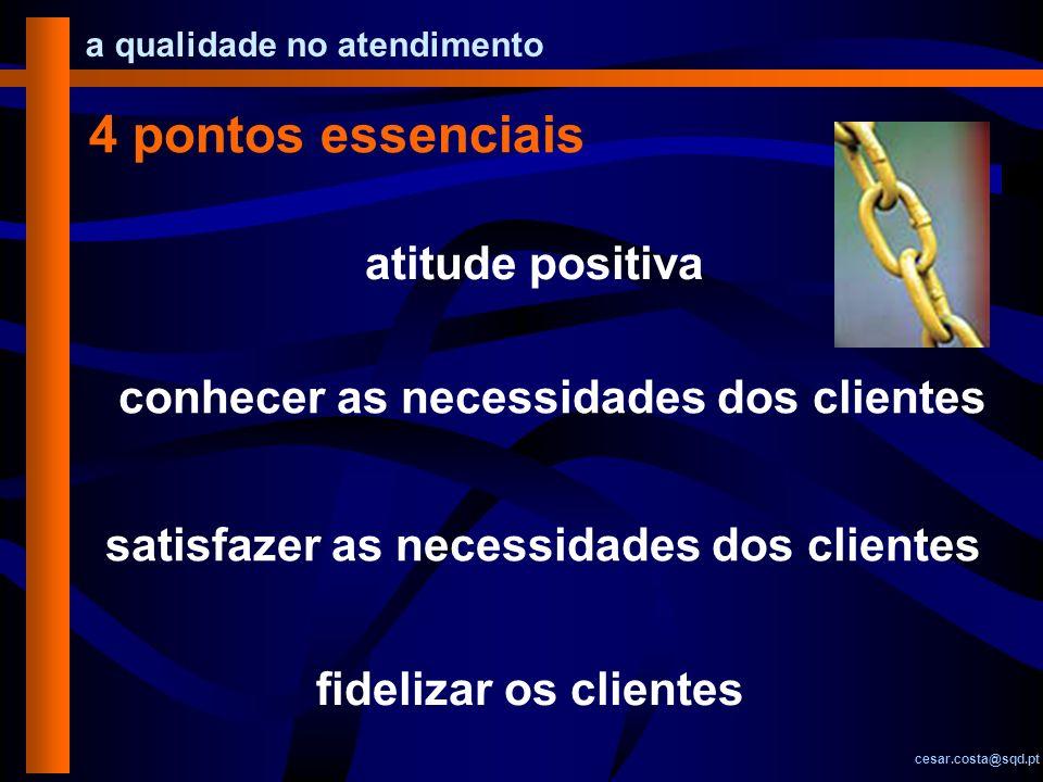 4 pontos essenciais atitude positiva